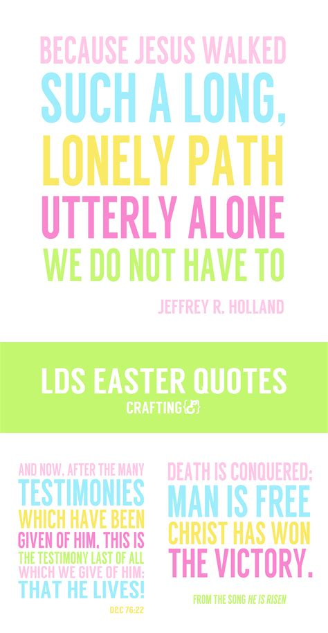 free printable easter quotes lds easter quotes craftinge e