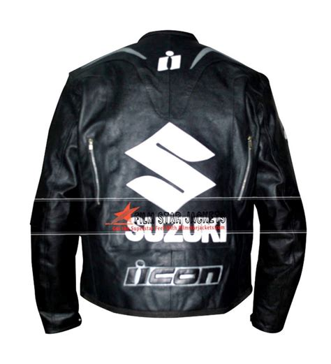 Suzuki Jacket Suzuki Black Motorcycle Jacket