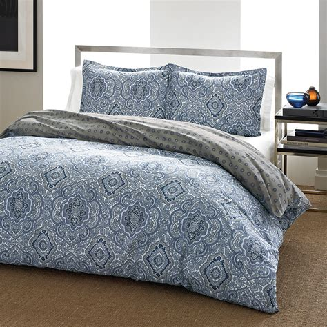 City Scene Milan Blue Comforter And Duvet Sets From