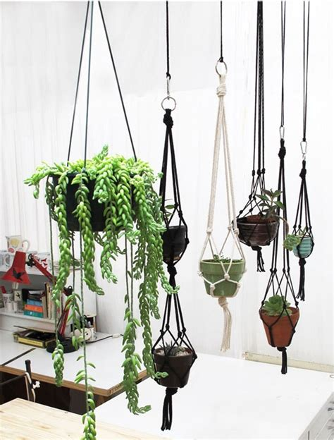 Macrame Pot Holders - discover and save creative ideas