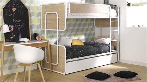 chambre enfant lit superposé chambre originale pour ado