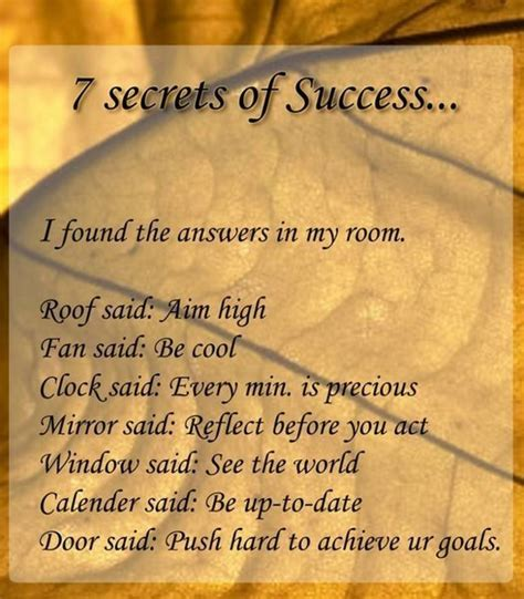 7 Secrets Of Successful by Beautiful Thoughts On And Seven Secrets Of Success