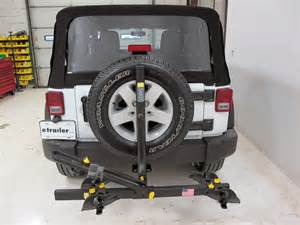 jeep wrangler saris freedom 2 bike rack platform style