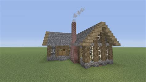 How To Build A House In Minecraft by How To Build A Survival House In Minecraft