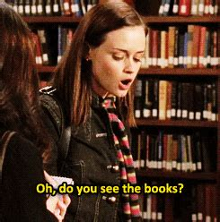Rory Gilmores Book Club by Gilmore Books Gif Find On Giphy