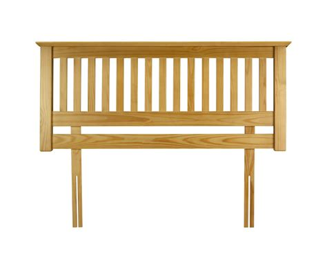 pine headboard king barcelona slatted pine headboard just headboards