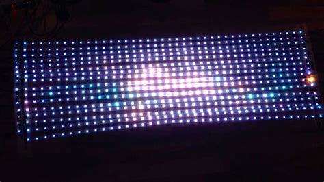 25 Square Meter 5050 smd ws2801 chip led matrix with led strips and t1000
