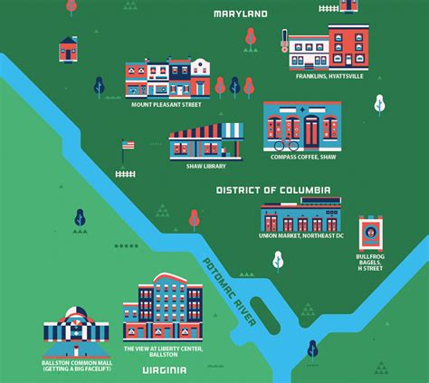 sections of dc the 5 hottest neighborhoods in washington