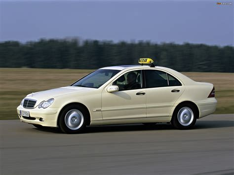 Images Of Mercedes by Images Of Mercedes C Klasse Taxi W203 2000 05