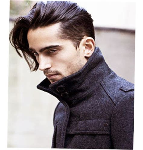 pictures of hairstyles with long front and sides shorter at back mens long hairstyles tips how to take care ellecrafts