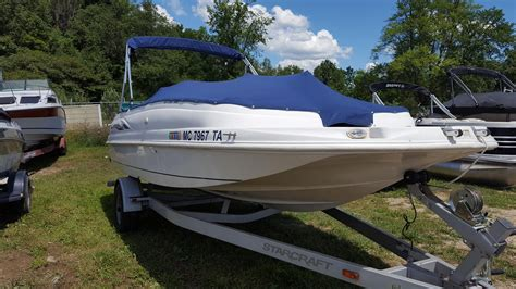 starcraft boats for sale used used starcraft boats for sale in michigan boats