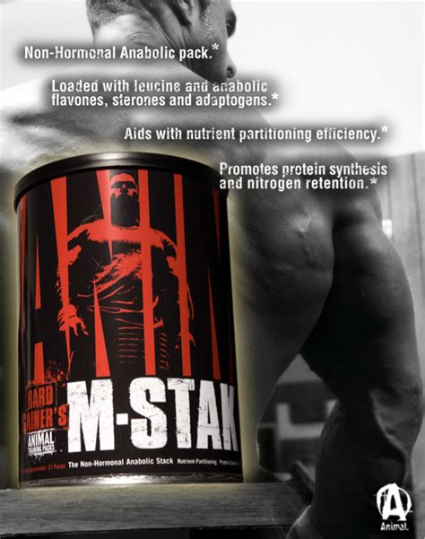 m stak supplement animal m stak by universal nutrition at bodybuilding