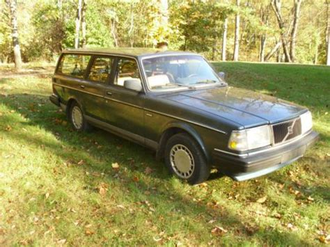 volvo 240 transmission find used 1989 volvo 240 dl wagon with 5 speed manual