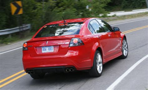 2009 Pontiac G8 Gxp by Car And Driver