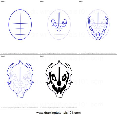 how to draw how to draw gaster blaster from undertale printable step