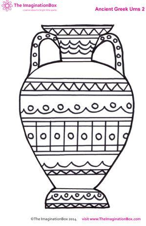 Printable Vase Pattern Get Exploring Ancient Greece With This Free Download Vase