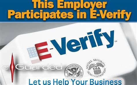 e verify background check make everify a part of your background screening process