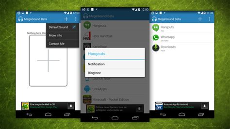 custom notification sound android megasound lets you set custom notification sounds for each