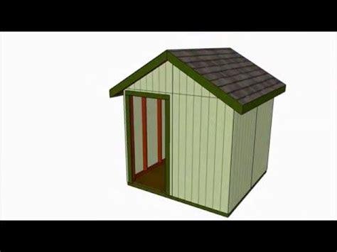 8x8 Storage Shed Plans by 25 Best Ideas About 8x8 Shed On Storage