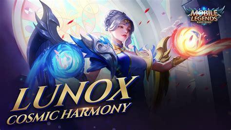 lunox  skin cosmic harmony mobile legends bang