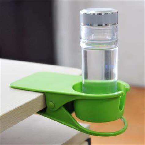 creative table desk glass mug cl drink cup holder stand