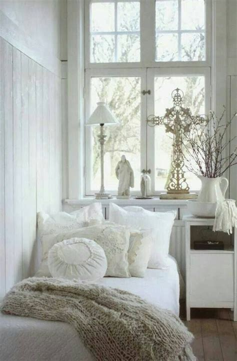 small shabby chic bedroom love that cross via retrocollects interiors vintage