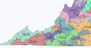Virginia Senate District Map virginia state senate map swing state project