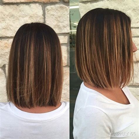 simple blunt bob hairstyles  medium hair pretty designs