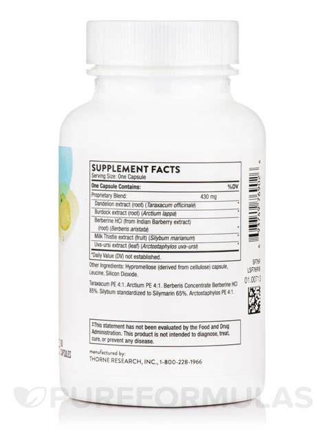 Liver Detox Capsules by Liver Cleanse 60 Capsules