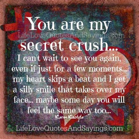 for secret crush quotes about secret crushes quotesgram
