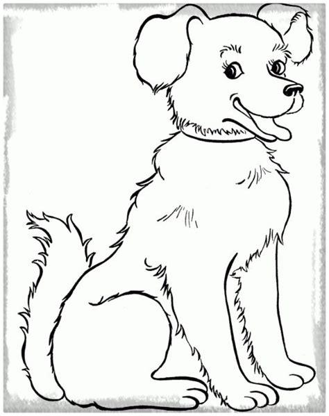 imagenes para dibujar que sean faciles perro dibujo para colorear en grande imagenes de cachorros