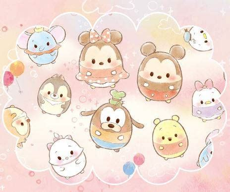 Pink Tsum Tsum Ufufy Daster disney ufufy the cutest thing from japan since tsum tsum laughingplace