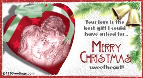 merry christmas sweetheart  love ecards greeting cards