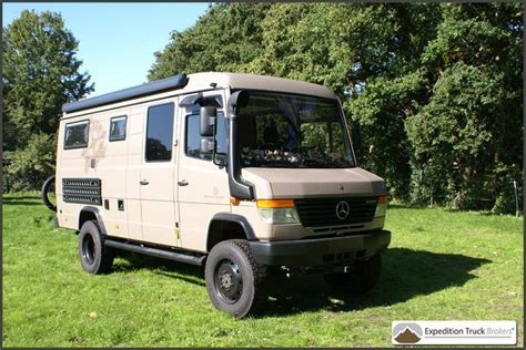 mercedes vario 4x4 for sale mercedes vario 4x4 expedition cer van expedition
