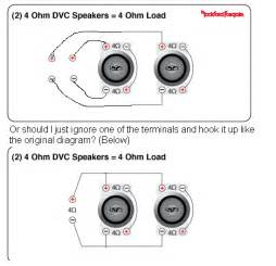 wiring two dual voice coil subs to one ls1tech