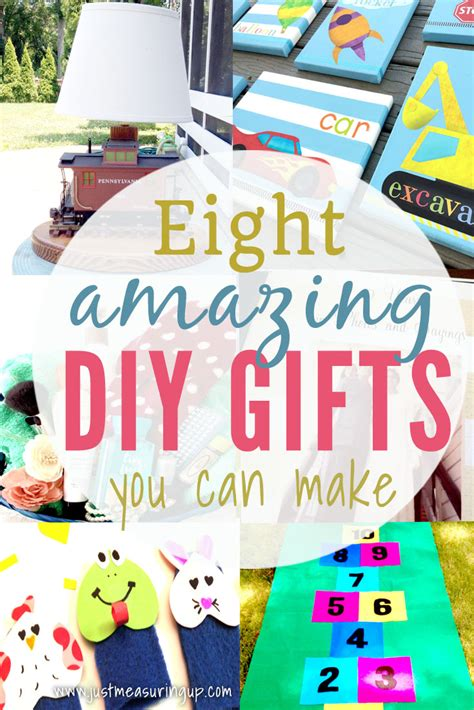 creative diy christmas gifts eight homemade gift ideas