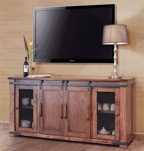 tv stand with cabinet doors barn door tv stand rustic barn door tv stand rustic tv stand