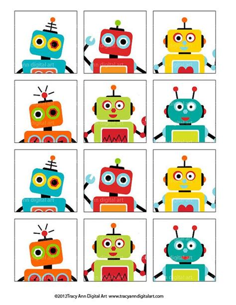 free printable robot party decorations 195 best robots images on pinterest classroom ideas