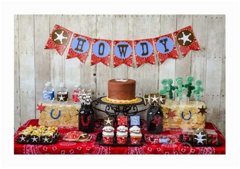 Cowboy Baby Shower Ideas by Cowboy Themed Baby Shower Items For Western Theme