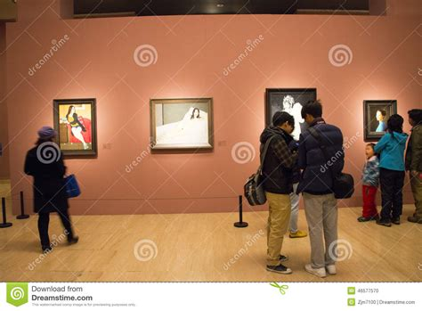 art gallery layout design in asia china beijing art museum the exhibition hall