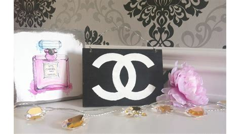 diy room decor melville inspired chanel wooden