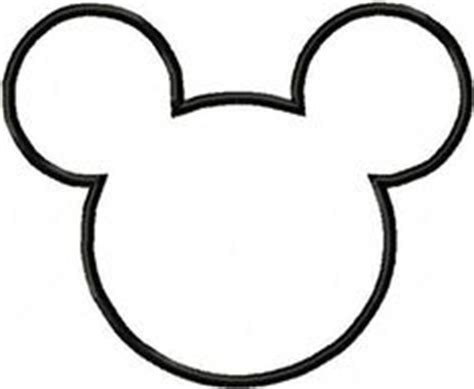 mickey mouse cut out clipart best