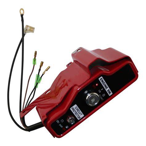 ignition switch key panel electric start  honda gx
