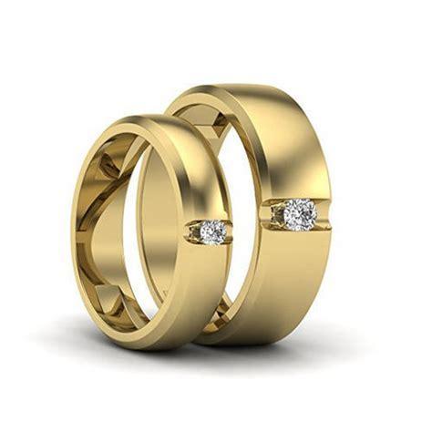 Couple Designer Rings   Designer Gold Couple Band