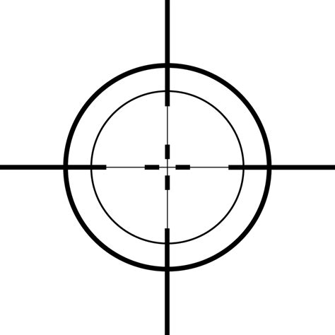 printable crosshair targets haphazard slapdash effects gabrielle giffords about sarah