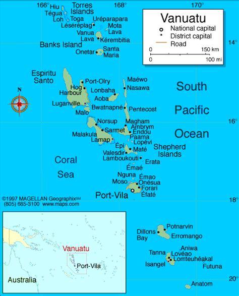 Vanuatu Calendã 2018 Atlas Vanuatu