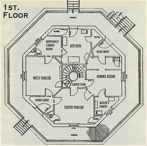 octagon house floor plans my central new york beyond the box resurrection and efficient living in camillus