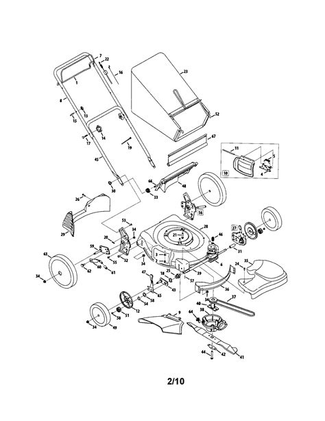mtd lawn mower parts diagram mtd mower parts diagram wiring diagram with description