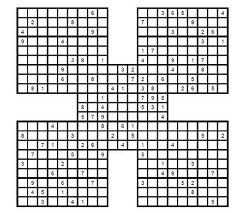 descargar sudokus samurai para imprimir apexwallpapers com sudoku samurai experto para imprimir 2 sudoku gratis para descargar