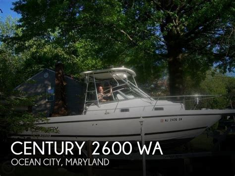 fishing boats for sale ocean city md century 2600 wa boat for sale in ocean city md for